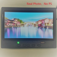 Desktop 7 inch 1024 x 600 Small HD LCD Monitor Build in Speakers HDMI LCD Monitor with HDMI / VGA / Video / Audio