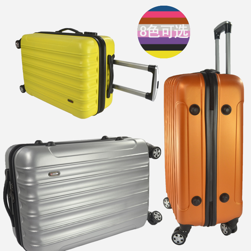 28-inch wheels rolling suitcase Check-in luggage abs luggage zipper box password boxes ...