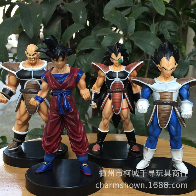 13cm 4pcs/set Dragon Ball Z Goku Vegeta Action Figure PVC Collection figures toys for christmas gift brinquedos 12pcs set children kids toys gift mini figures toys little pet animal cat dog lps action figures