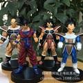 13cm 4pcs/set Dragon Ball Z Goku Vegeta Action Figure PVC Collection figures toys for christmas gift brinquedos