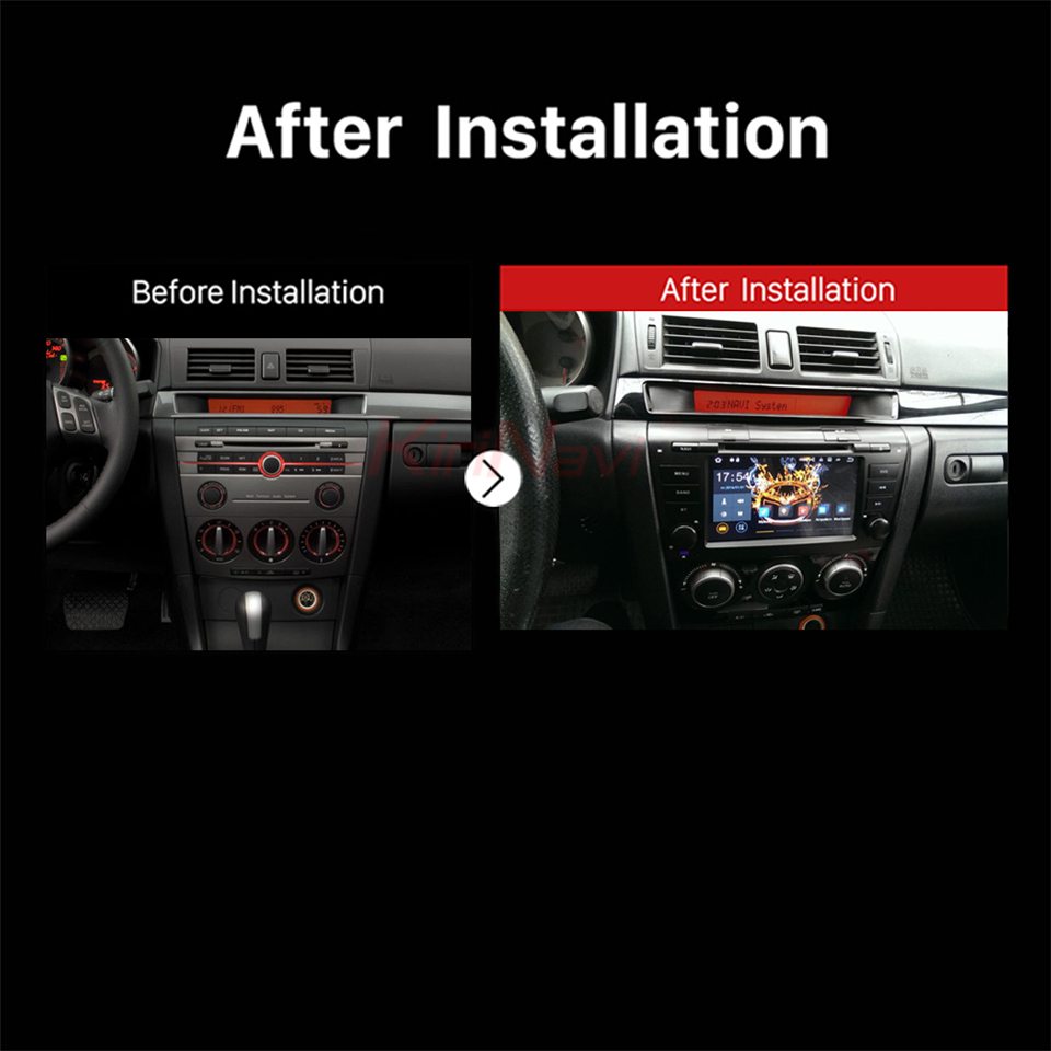 car audio for Mazda 3 multimedia system (2)