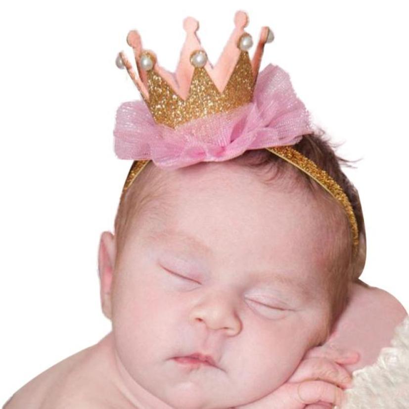 Girl Head Accessories Hairband Baby Elastic Flower Crown   Headwear   D50