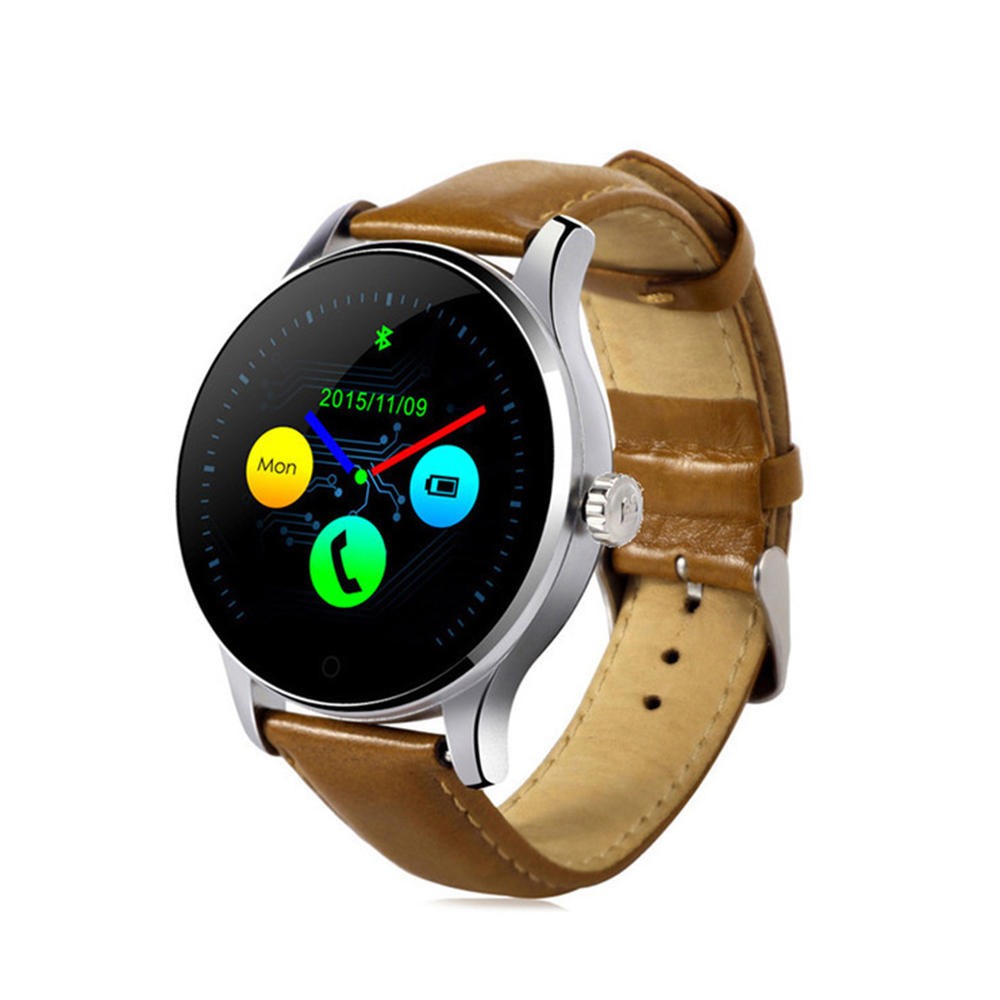 AFIT New K88H Smart Watch IPS Screen Support Heart Rate Monitor Bluetooth smartWatch For apple huawei IOS Android touch screen цена и фото
