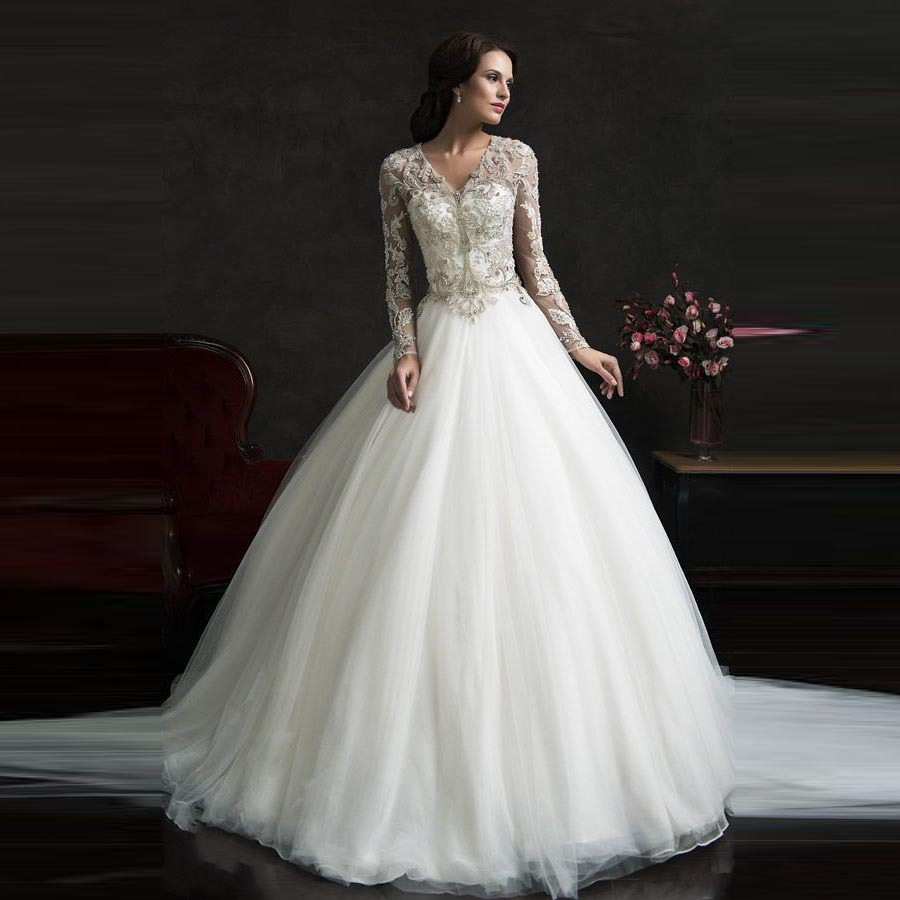 Buy em426 luxury ball gown wedding dress for Wedding dress pick up style