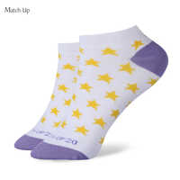 Match-Up Splendid Summer Style Sheer Cotton Spring Cotton Sock Summer Women Girl Sock Short Socks Boat Socks