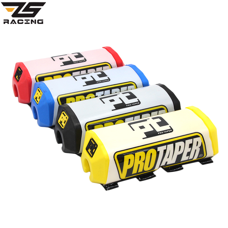 ZS-Racing Pro Taper Mx Motocross Dirt Bike Pit Bike Handlebar Bar Pad Fat Grips Chest Protector Cross Bar fit 1-1/8 Handle Bar