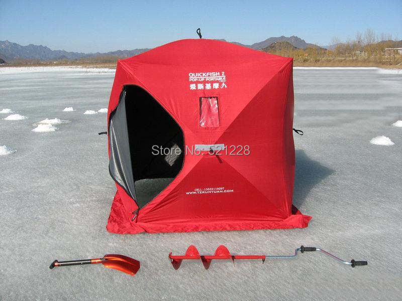 2015 Hot sale Eskimo 3 2 persons outdoor c&ing pop up automatic quick opening fire retarding ice fishing beach house tent-in Tents from Sports ... : eskimo tent - memphite.com
