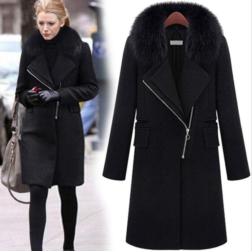 Online Get Cheap Long Black Coat -Aliexpress.com | Alibaba Group