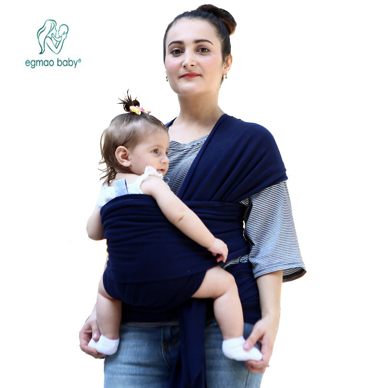 2018 Hot Comfortable Infant Wrap Natural Cotton Hipseat Baby Sling Carrier Backpack Pouch for Postpartum Newborn Birth to 35Lbs multi function portable comfortable cotton baby carrier sling bag deep blue white