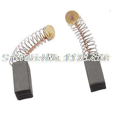 20 Pcs Electric Motor Spring Carbon Brushes 1 5 X 1 5 X