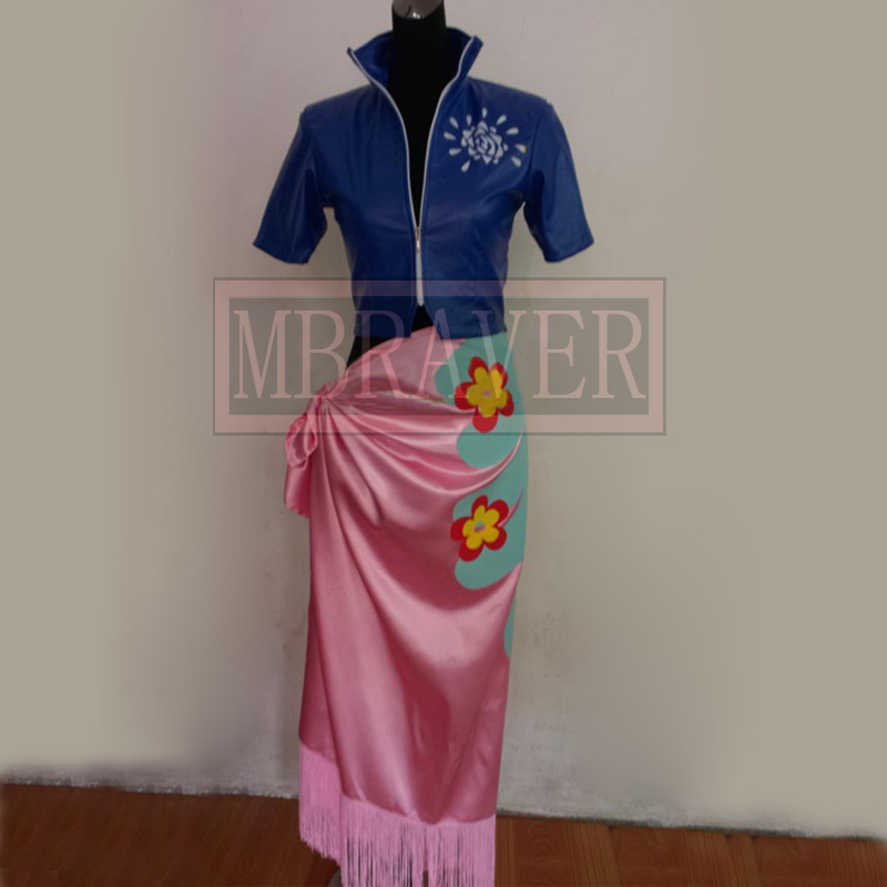One Piece Nico Robin Two Years Later Cosplay Costume Custom Made Any Size