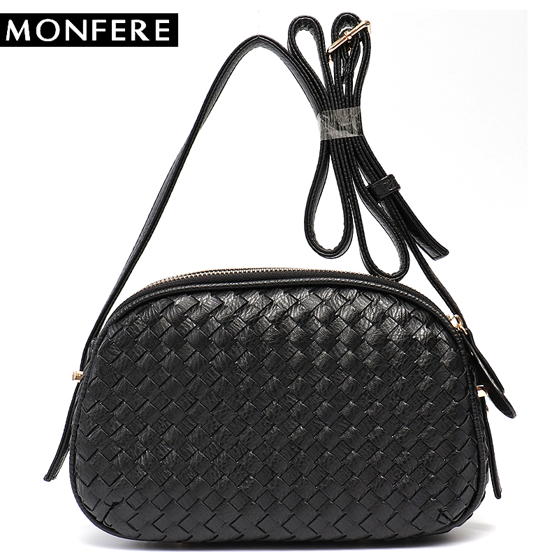 MONFER Small Leather Women Cross body Bag Multi Pockets Functions Sections  Cute Mini Female Side Bag Girl PU Messenger Bags 2018-in Shoulder Bags from  ... 25493a3102e41