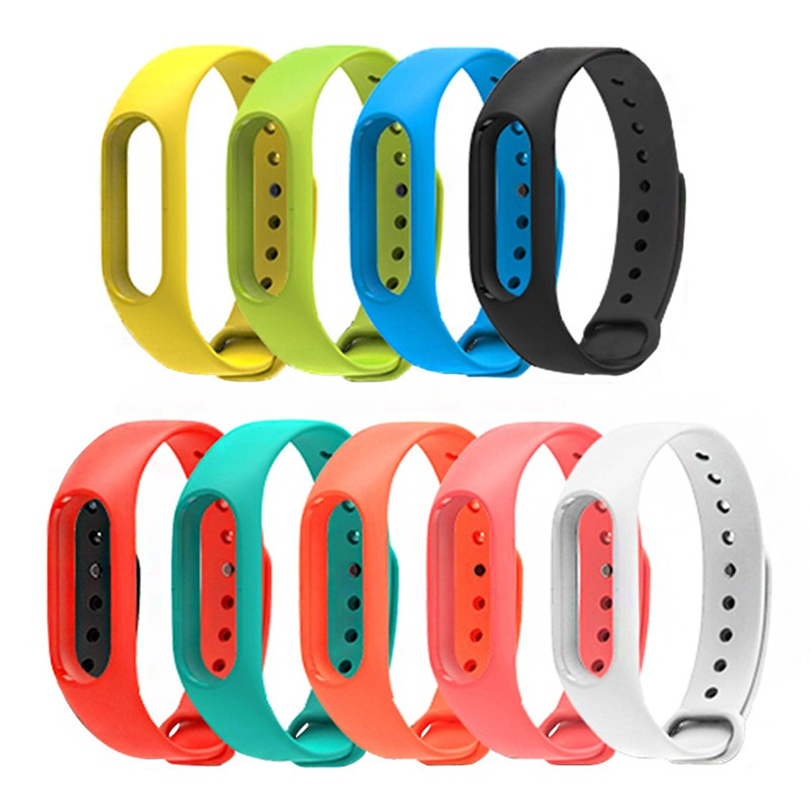 Xiaomi MiBand 2 Bracelet Bracelet Miband 2 Coloré Bracelet Ceinture de  Remplacement De la Bande Accessoires Pour Mi Bande 2 Bracelets De Silicone bba0a317e36