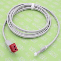 Compatibility Nihon Kohden NIBP cuff air hose dual tubes and red connectors .Blood Pressure tubing.Y adapter
