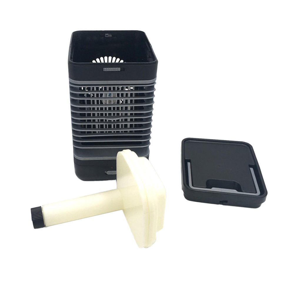 Creative Handy Air Cooler Table Desktop Fan Cooler Humidifier Portable Air Conditioning Cooler Fan for Home Office portable size household office use handy cooler portable size table desktop fan cooler air conditioning cooler fan gift