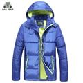 O envio gratuito de Nova Primavera 2017 Homens Jaqueta de Inverno Da Marca de Alta Qualidade Para Baixo Homens Parka Quente Jaqueta de Inverno Casacos de Algodão
