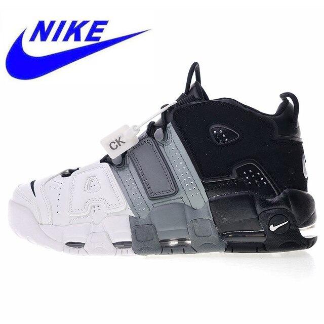 b7df719875b8 New High Quality Original Nike Air More Uptempo OG Men s Basketball Shoes  Outdoor Sneakers Non-slip Shock 921948 002 414962 004