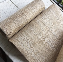 2.5Meter/pcs  Width:55cm Thickness:0.3mm Splicing Wood Veneer Decoration(back side Non-woven fabric)