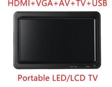 Жк-телевизор, wiiu vga, hdmi, xbox монитор видео плеер дисплей поддержка игры
