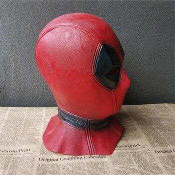 Косплей маска Дэдпул 1