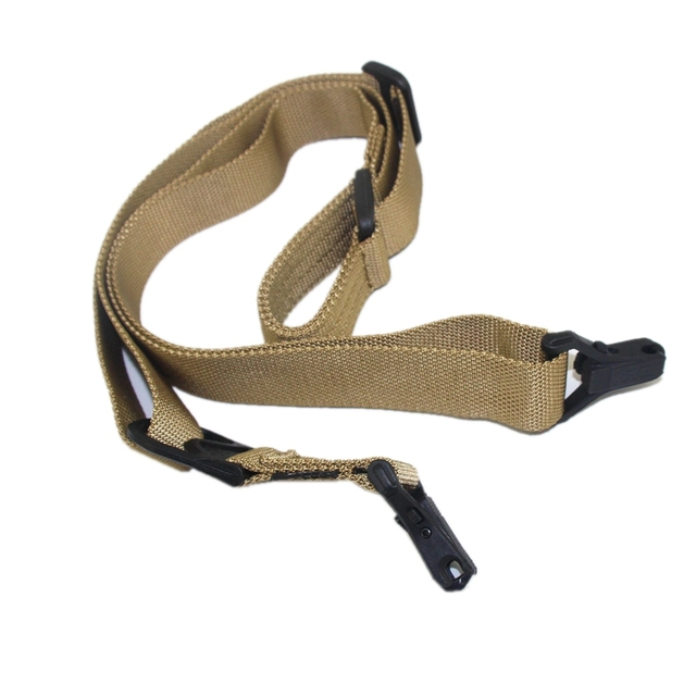 Whole Sale Tactical Gun Sling Two Point Rifle Sling 2-point Sling w  FAST-LOOP Battle Gun Shoulder Strap for Outdoor Hunting b7f2f43a4dc