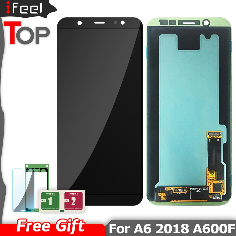 LCD For Samsung Galaxy A6 2018 LCD A600 A600F A600FN LCD Display Touch Screen Digitizer Replacement For A6 2018 A600 LCDLCD For Samsung Galaxy A6 2018 LCD A600 A600F A600FN LCD Display Touch Screen Digitizer Replacement For A6 2018 A600 LCD