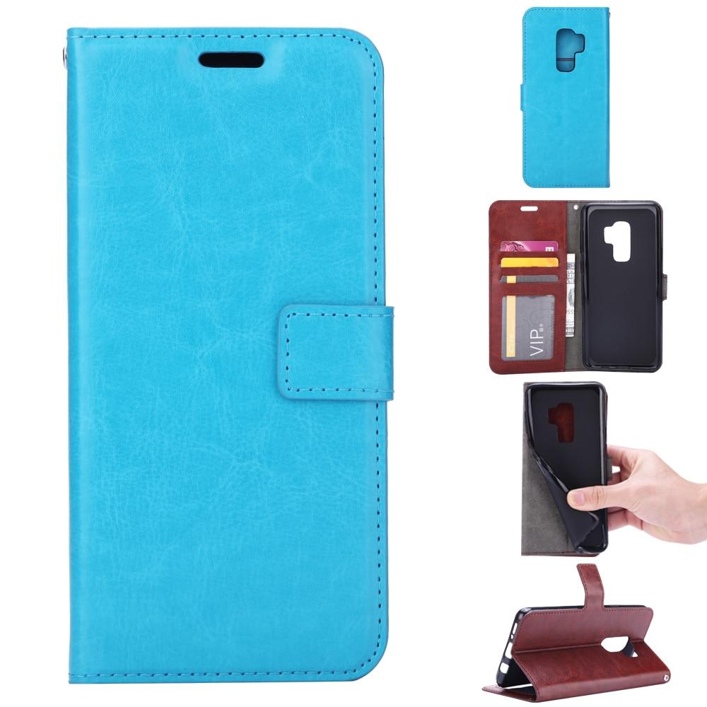 S9plus Case PU կաշվե ծածկը Samsung Galaxy S8 S9 S 8 Plus - Բջջային հեռախոսի պարագաներ և պահեստամասեր - Լուսանկար 1