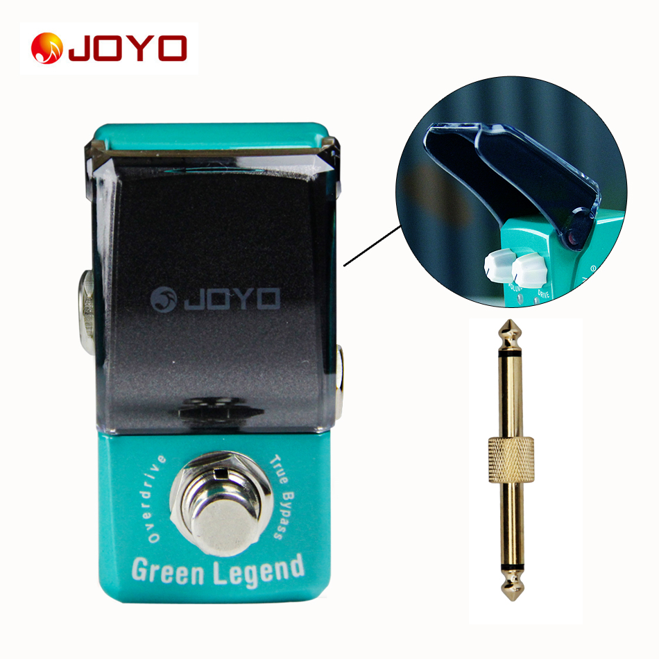 JOYO Ironman series mini pedals green legend overdrive Guitar pedal Guitar Effect Pedal with One  PC Pedal Connector new guitar effect pedal joyo digital reverb space verb ironman series mini pedal jf 317 1 pc pedal connector