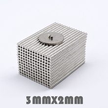 50/100/200pcs 3x2mm 3*2mm N35 Neodymium Magnets Super Strong Small Round Nickel Plated Rare Earth Magnets Powerful magnet