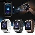 Smart Watch Цифровой Sim-карты Спорт Smartwatch DZ09 u8 с Мужчины Bluetooth Электроники Для Камеры Телефона Android Носимых Устройств
