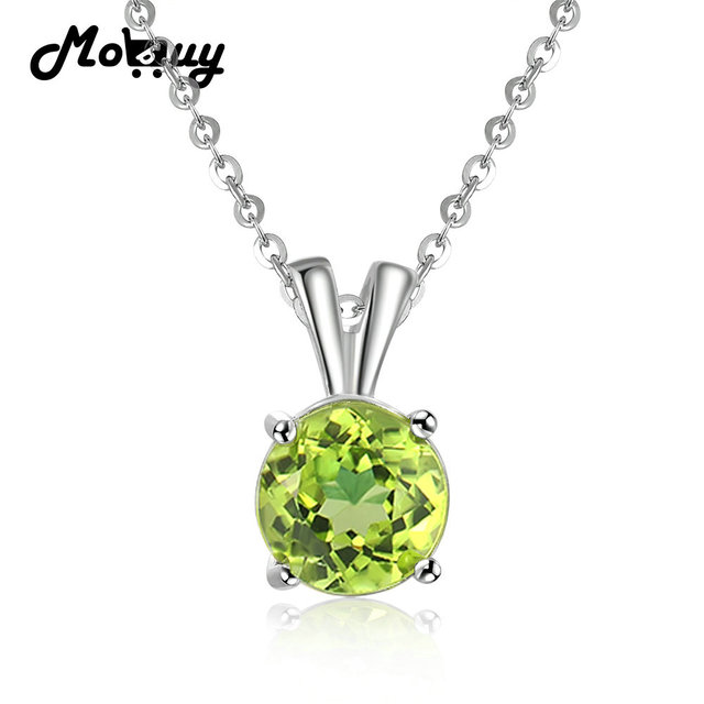 Garnet 925 Sterling Silver 18K White Gold Plating Necklace Gem Fine Jewellery 45cm For Women VvRvy60