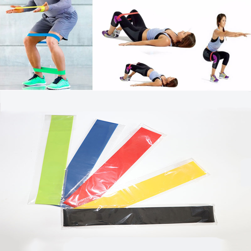 Sports & Entertainment Fitness & Body Building 600*50 Yoga Resistance Bands 0.35mmm-1mm Indoor Pilates Sport Training Workout Rubber Belt Loop Elastic Outdoor Fitness Bands Lovely Luster