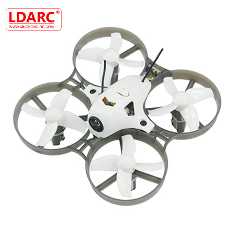 KINGKONG/LDARC TINY R7 75mm RC Quadcopter With 820 Motor 5.8G 800TVL Camera F3 Betaflight Flip Over RC Models