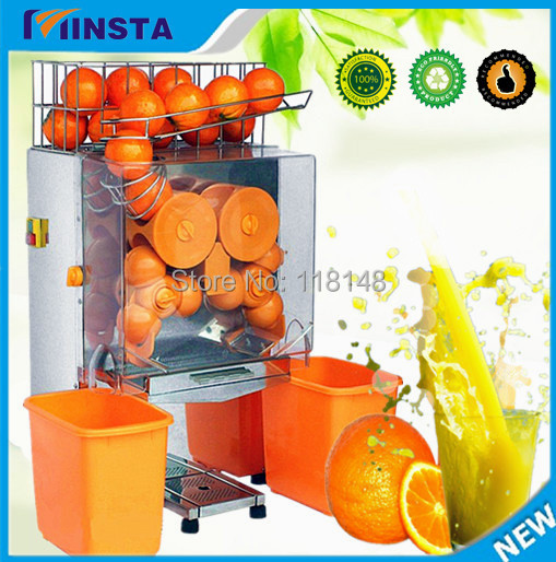 Free Shipping Commercial Electric Fresh Orange Squeezing Machine