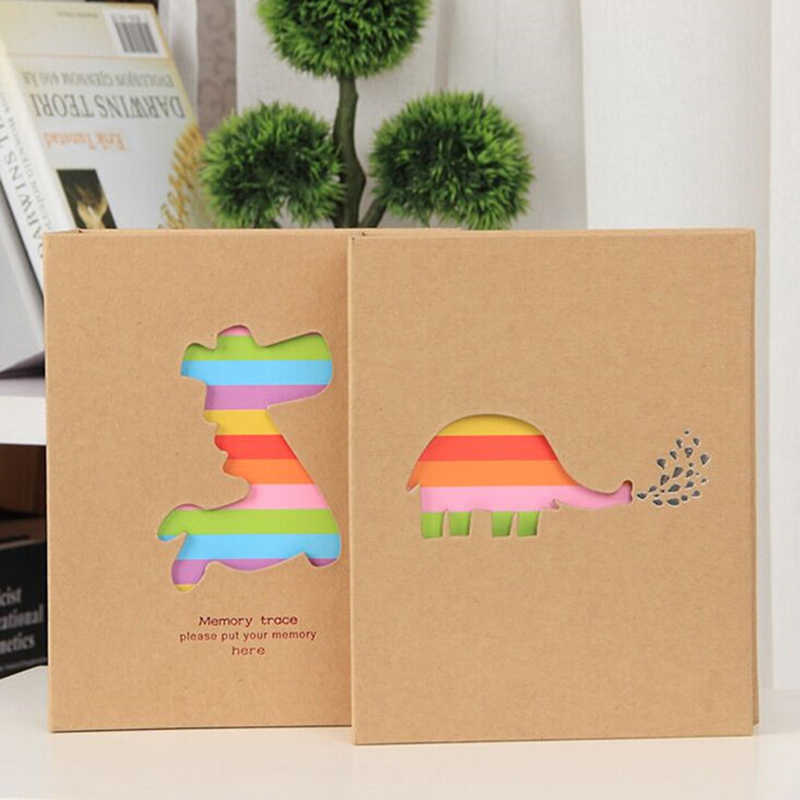 6 Inch 100 Pockets Photo Album Storage Frame For Kids Gift Scrapbooking Case Photo Photo Album