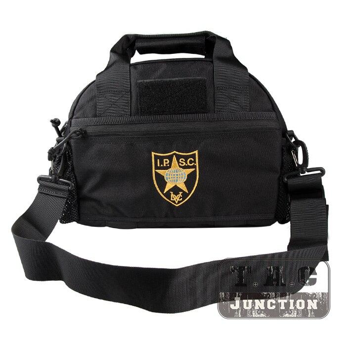IPSC USPSA IDPA gamme sac de transport pistolet & Magazine stockage champ poche de tir CORDURA Farbic étanche conception MOLLE facile à transporter