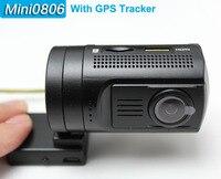 Free Shipping Upgrade Mini 0806 Dash Car Camera DVR Full HD 1296P Ambarella A7LA50 With CPL