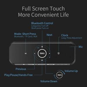 Image 4 - MIFA A30 TWS אלחוטי נייד מתכת מלא מסך תצוגת Bluetooth רמקול 30W כוח OSD מגע בקרת רמקולים עם מעורר שעון