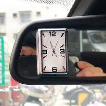 Автомобильные часы автомобили кварцевые часы Автомобильный интерьер декоративная ручка-на цифровые часы время дисплей автомобиль-Стайлинг Аксессуары