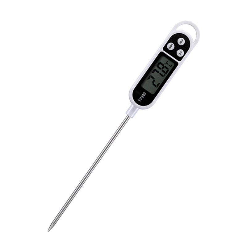 MOSEKO Kitchen Food Thermometer for Temperature Measurement of Meat Water Milk and Other Cooking Food with Digital Display