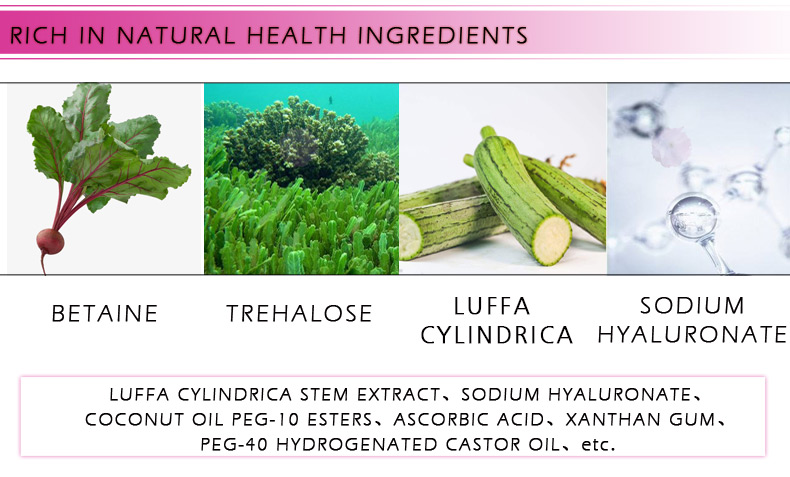 Hyaluronic Acid Serum + VC Snail Serum Collagen Serum Anti-Aging For men and women Moisturizing Skin Care Whitening Brighten 11
