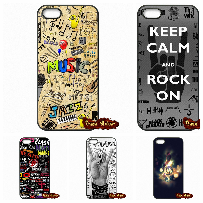 Nice Musical Notes Musical Cases Covers For LG L65 L70 L90 K10 Google Nexus 4 5 6 6P For LG G2 G3 G4 G5 Mini G3S