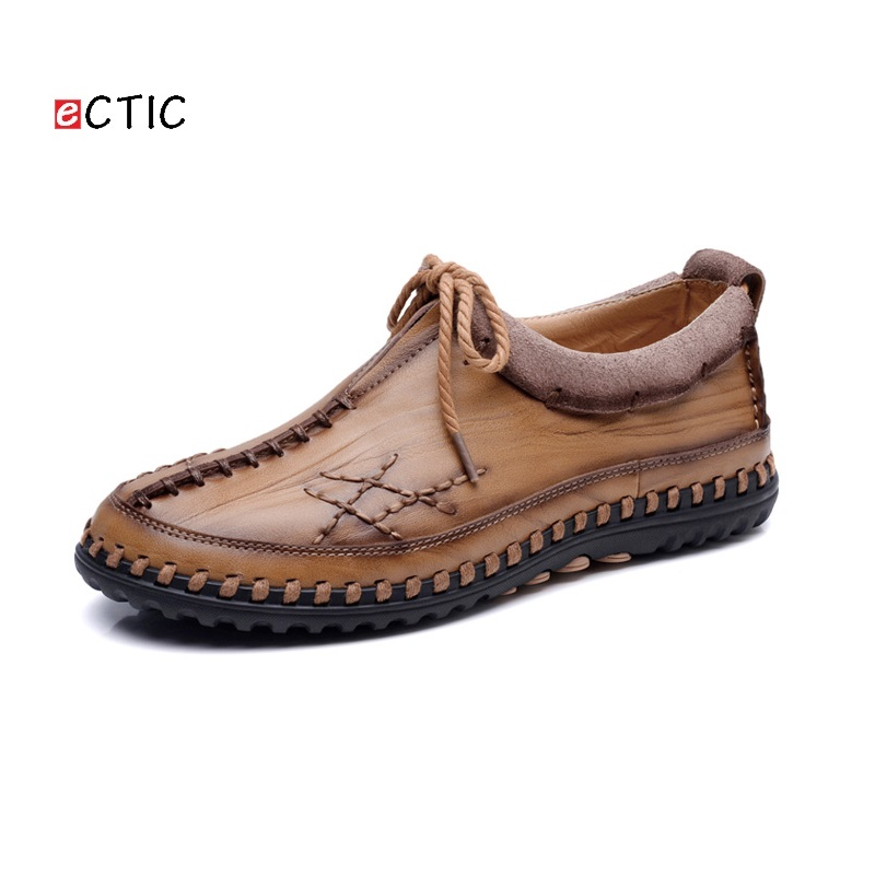 2017 New Arrival Luxury Brand Men Shoes Cow Genuine Leather Men Driving Shoe High Quality Loafers Comfortable Marron Black Khaki cbjsho brand men shoes 2017 new genuine leather moccasins comfortable men loafers luxury men s flats men casual shoes