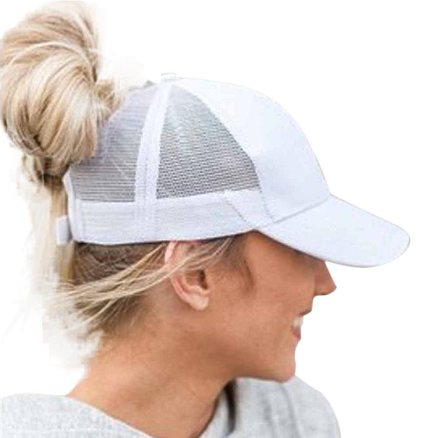 #5 Fashion Women Men Adjustable Baseball Cap Snapback Hat Hip-Hop Mesh Cap Shade Free ship