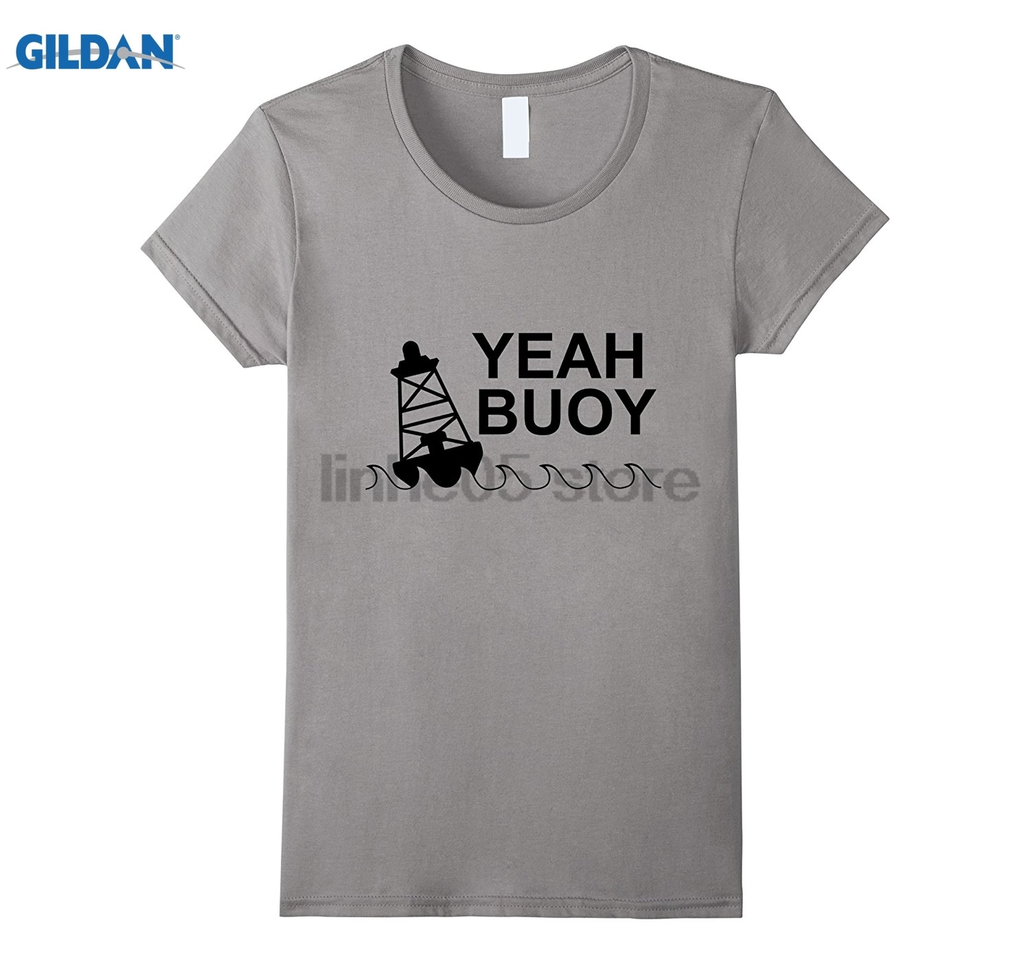 GILDAN Yeah Buoy t-shirt Dress female T-shirt