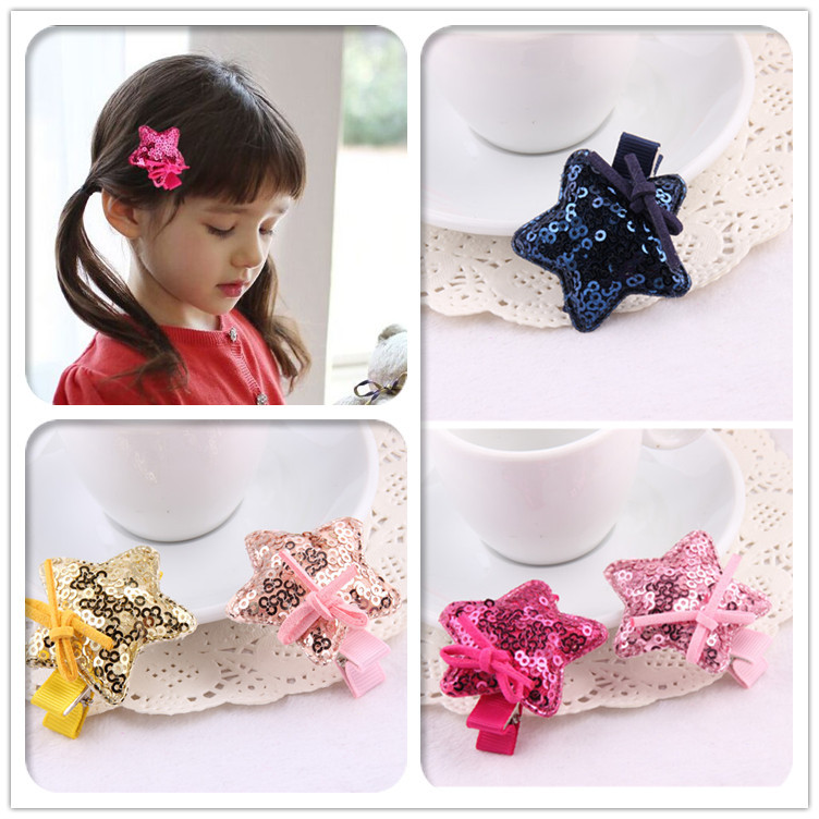 Girls' Clothing Accessories Wine Red Bowknot Bows Hairpin Boutique Girls Kids Hair Clips Bow Barrette Accessories For Children Headdress Hairclip Ornaments