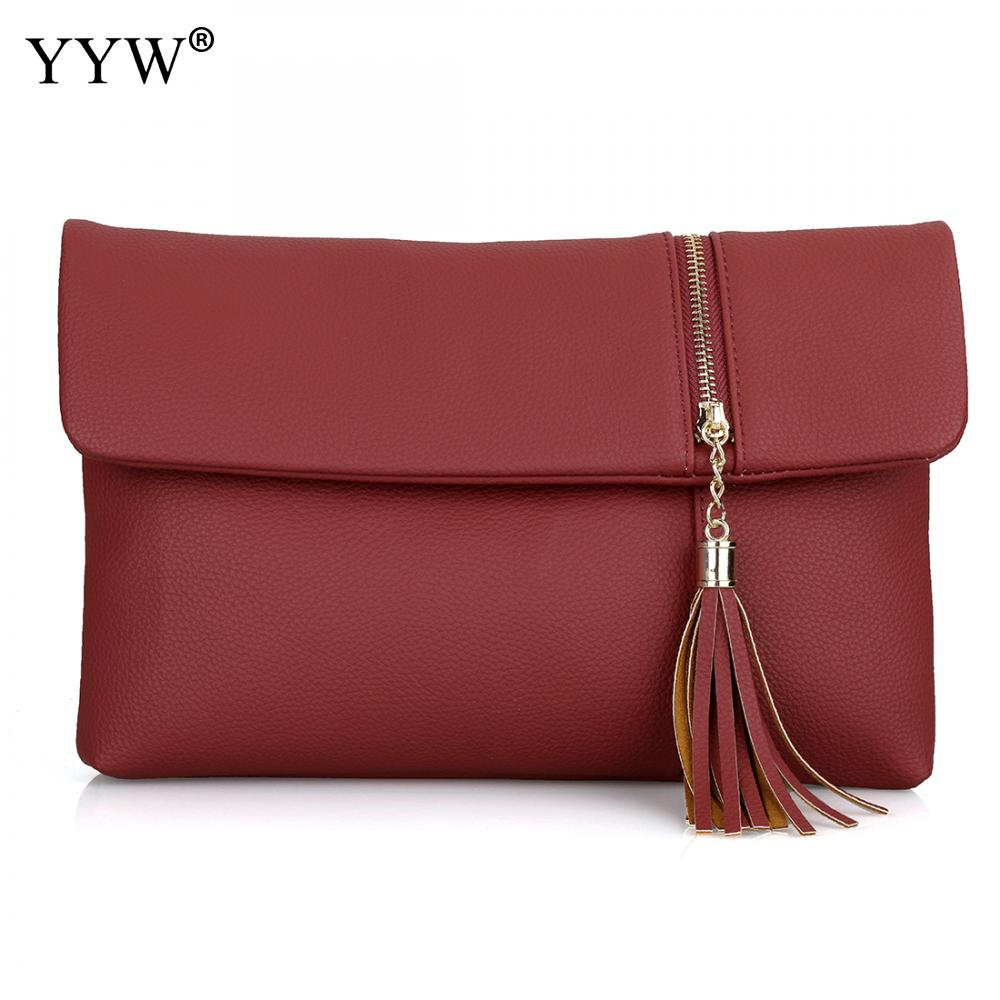 Real Cowhide Leather Women Clutch Bags handbag Purse Organizer Evening Party New holder case wedding designer wallet 2018