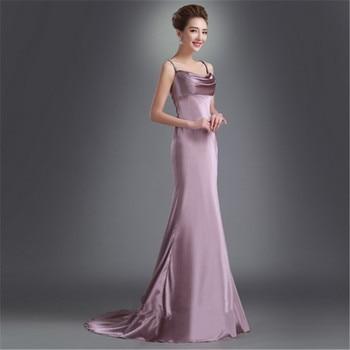 Customized Party Gown Formal Long Evening dresses vestido de festa longo robe de soiree vestido de novia abendkleider SM027