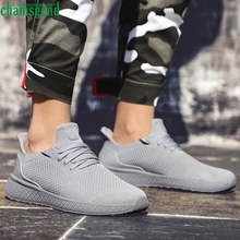 CHAMSGEND Men's Running Shoes Breathable Shoes Light Weight
