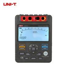 UNI-T UT511 Digital Insulation Resistance Test Meter Megohmmeter Ohmmeter Voltmeter Auto Range 1000V LCD Backlight with TOOLBOX недорого